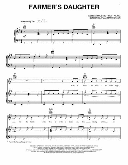Download Rodney Atkins Digital Sheet Music And Tabs