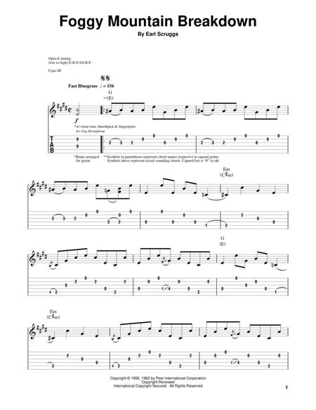 Earl Scruggs sheet music to download and print - World center of ...