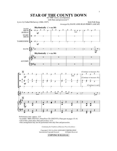Dave Perry / Jean Perry sheet music to download and print