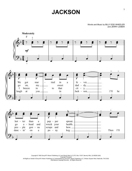 Johnny Cash June Carter Johnny Cash Sheet Music To Download And