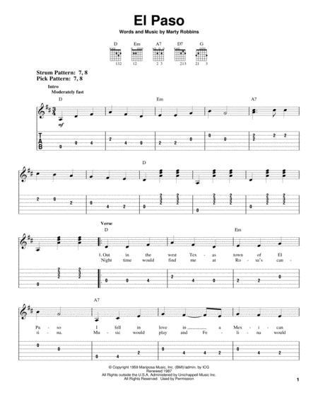 Buy Marty Robbins Sheet music - Robbins, Marty music scores