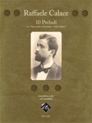 Raffaele Calace  Sheet Music 10 Preludi Song Lyrics Guitar Tabs Piano Music Notes Songbook