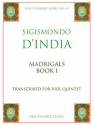 Madrigals a5, Book 1 (score and 8 part set)