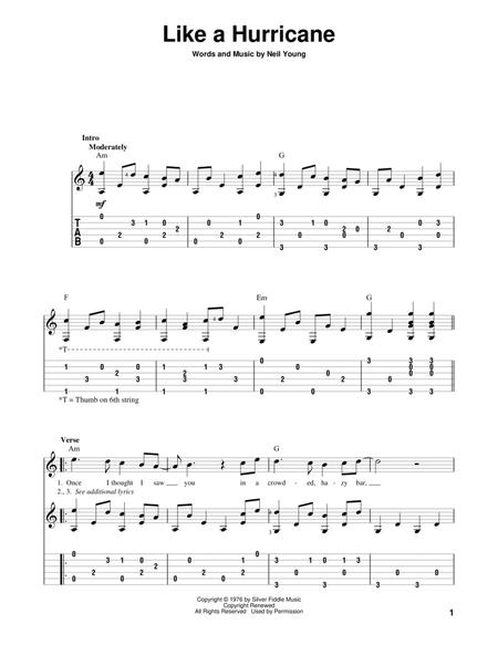 Neil Young sheet music to download and print - World center of ...