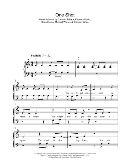 JLS sheet music to download and print - World center of