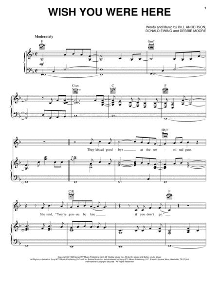 Mark Wills sheet music to download and print - World center of