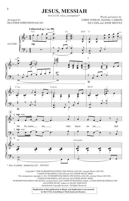 Daniel Carson sheet music to download and print - World center of ...