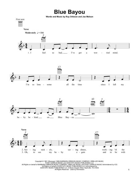 Roy Orbison And Linda Ronstadt Sheet Music To Download And Print