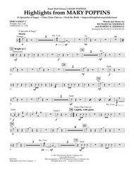 Highlights from Mary Poppins - Percussion 2 sheet music