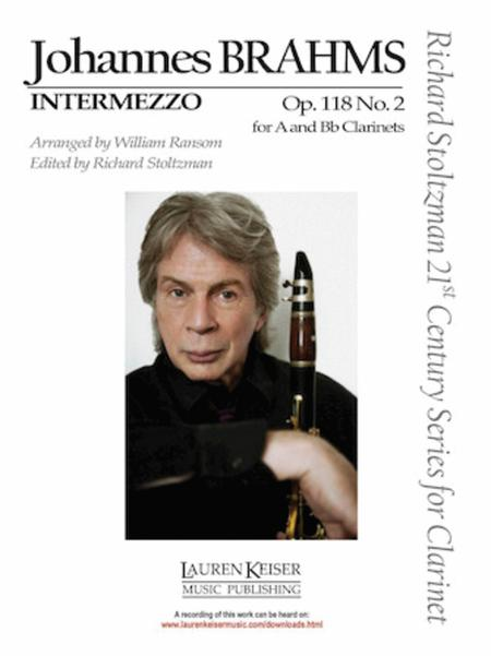 Intermezzo In A Op.118 No.2  Piano Johannes Brahms Book Only HL50281790