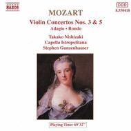 Violin Concertos Nos. 3 and 5