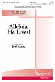 Alleluia, He Lives! (choral octavo) sheet music