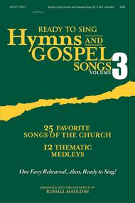 Ready To Sing Hymns and Gospel Songs V3 (CD Preview Pack)