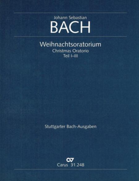 Sheet music: Christmas oratorio