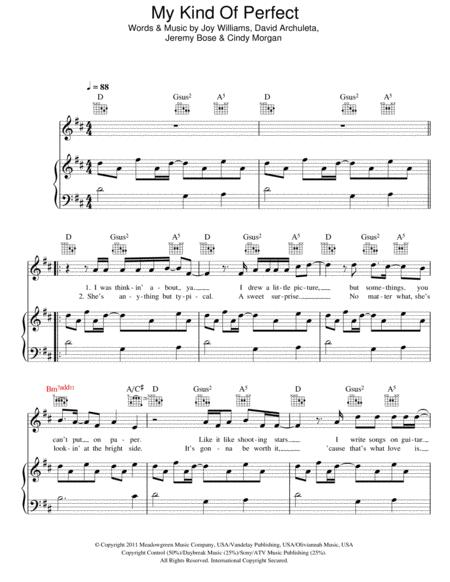 Download David Archuleta Digital Sheet Music And Tabs