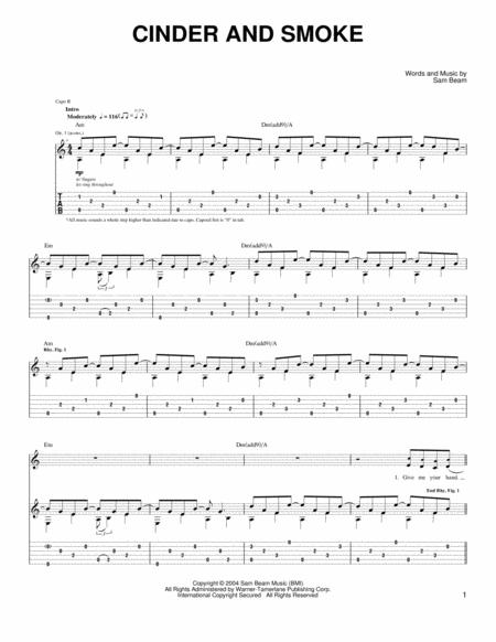 Iron And Wine Sheet Music To Download And Print World Center Of