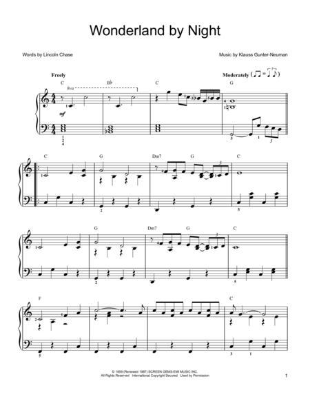 Bert Kaempfert sheet music to download and print - World center of