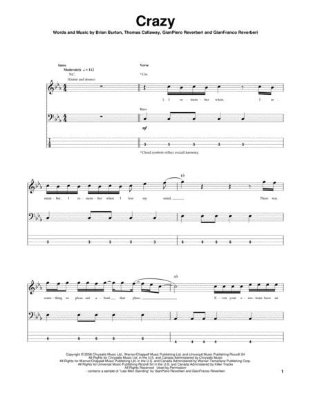 Gnarls Barkley Partitions Musicales Imprimer Mondial De La