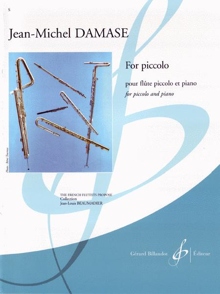 Sheet music: For Piccolo