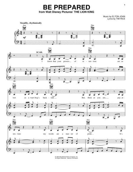 Download Digital Sheet Music Of Elton John For Piano Vocal And Guitar