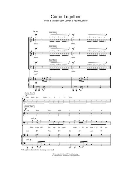 Download Digital Sheet Music of the beatles for Piano, Vocal and Guitar