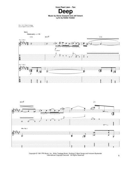 Buy Pearl Jam Sheet music, Tablature books, scores