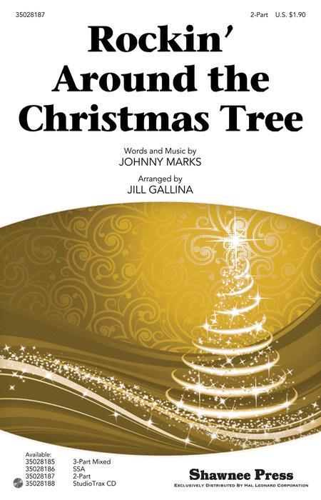 Sheet Music Rockin Around The Christmas Tree 2 Part