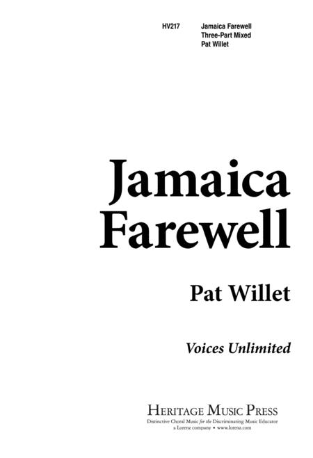 Jamaica Farewell Sheet Music To Download And Print World Center