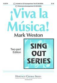 Mark Weston  Sheet Music !Viva la Musica! Song Lyrics Guitar Tabs Piano Music Notes Songbook
