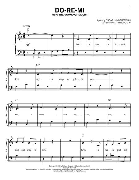 Piano Sheet Music With Letters Do Re Mi Easy Piano Sheet Music Pdf Free