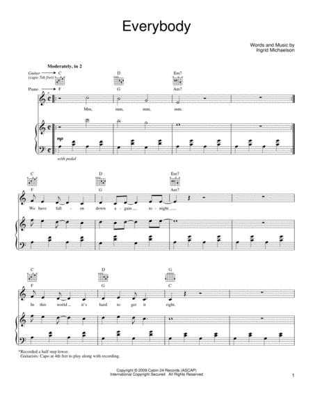 Ingrid-Michaelson sheet music to download and print - World center ...
