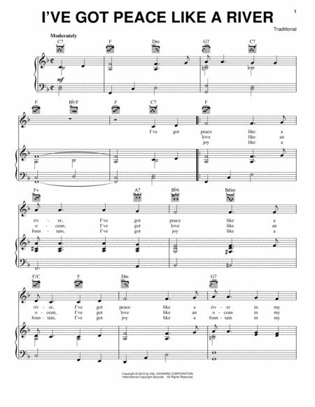 Traditional Gospel Hymn Sheet Music To Download And Print World