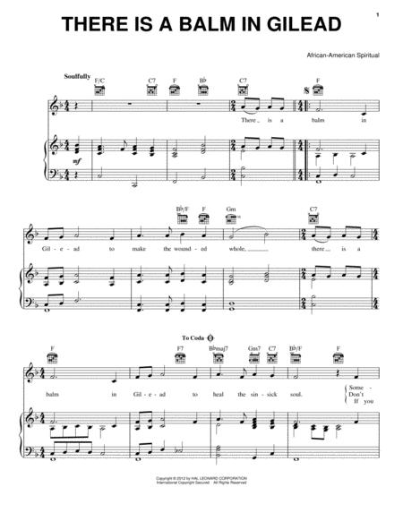 Traditional Gospel Hymn sheet music to download and print - World ...