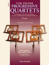 Progressive Quartets for Strings sheet music