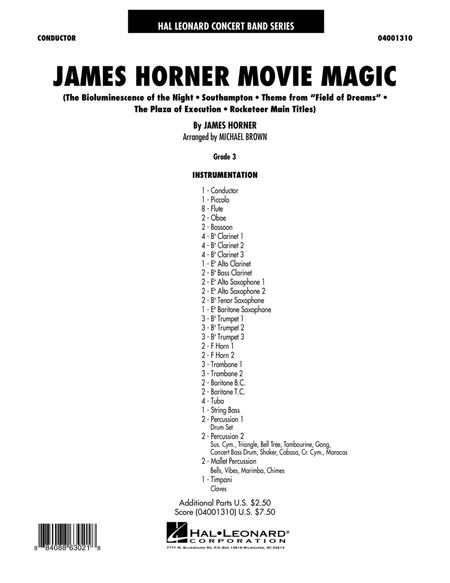 James Horner Sheet Music Books Scores Buy Online