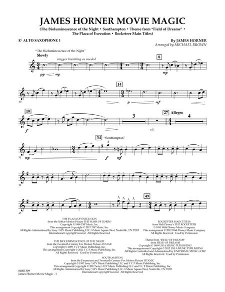 James Horner Sheet Music To Download And Print World Center Of