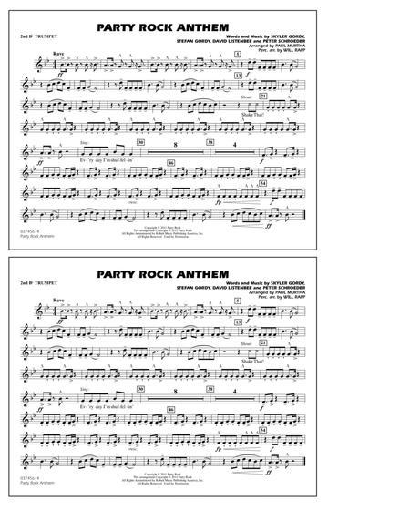 Party Rock Anthem Marching Band Arrangement Pdf Files