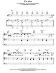 Download Digital Sheet Music of coldplay for Piano, Vocal
