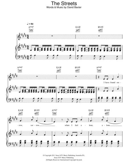Avalanche City Sheet Music To Download And Print World Center Of