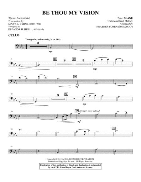 Be Thou My Vision Sheet Music To Download And Print World Center