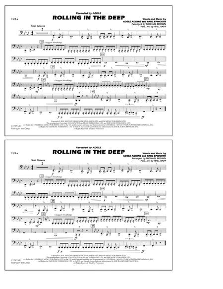 Download Digital Sheet Music of marching band for Tuba