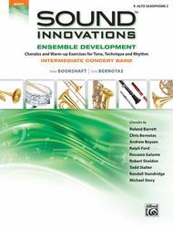 Sound Innovations for Concert Band -- Ensemble Development for Intermediate Concert Band sheet music