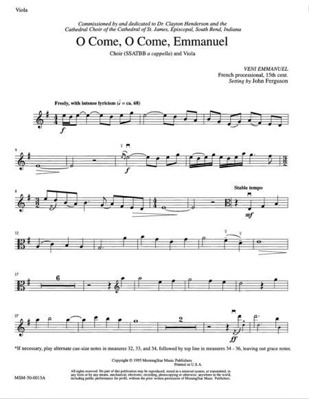 Download Digital Sheet Music for Viola