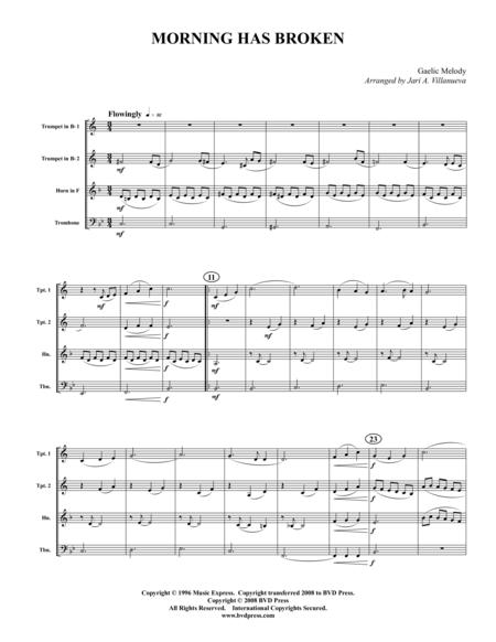 Morning Has Broken sheet music to download and print - World center ...