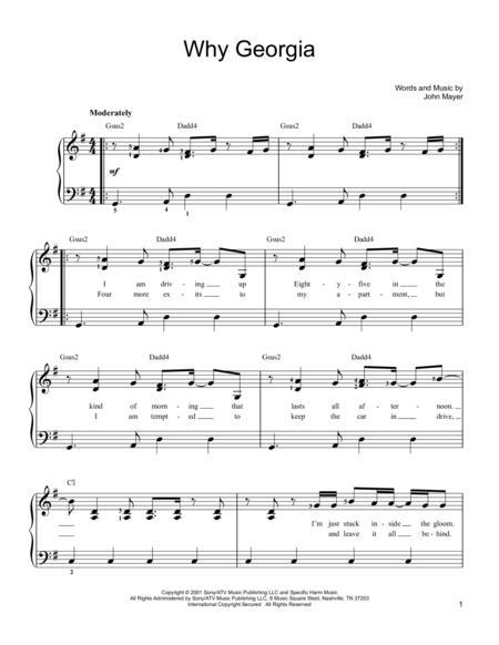 Buy John Mayer Sheet Music Tablature Books Scores