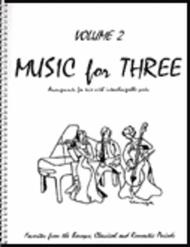 Music for Three, Volume 2 - Piano Trio (Violin, Cello & Piano - Set…