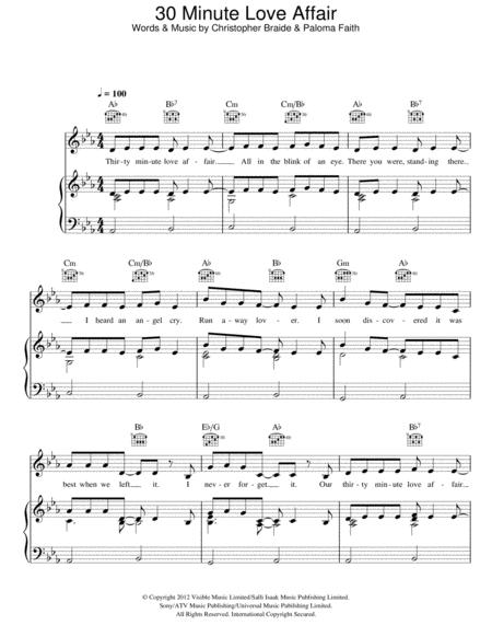 Paloma Faith sheet music to download and print - World center of ...