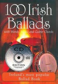 Various  Sheet Music 100 Irish Ballads - Volume 1 Song Lyrics Guitar Tabs Piano Music Notes Songbook