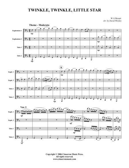 Twinkle Twinkle Little Star Sheet Music To Download And Print
