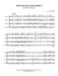 """George Frideric Handel  Sheet Music """"Hallelujah"""" from The Messiah Song Lyrics Guitar Tabs Piano Music Notes Songbook"""